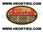 Paul Dunstall Suzuki GS 1000 CS Tank and Fairing Transfer Decal DDUN11-5